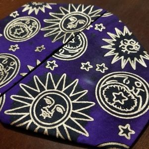 Homemade Sun and Moon Gold and Purple Face…